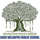 sona valliappa public school logo